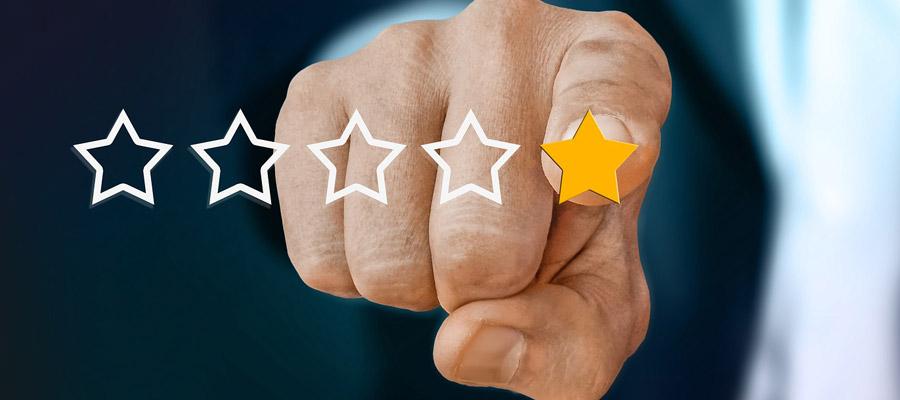 Kundenbewertung (Bild: Pixabay)