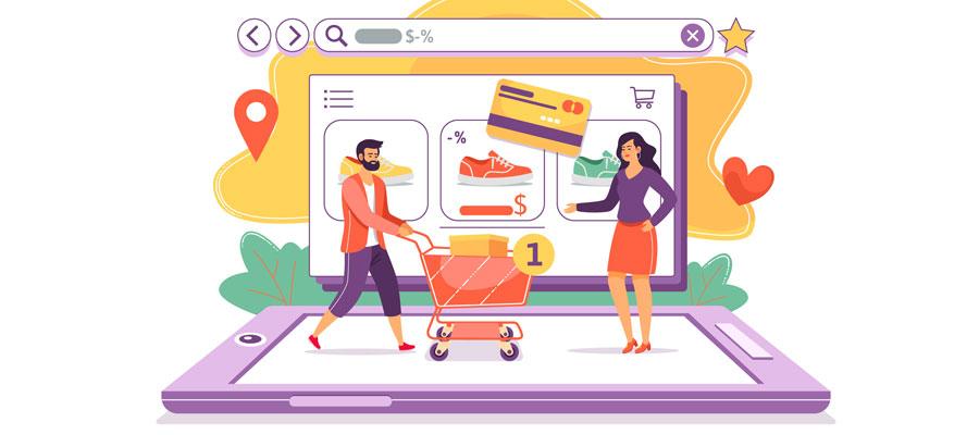 E-Commerce Onlineshop beliebteste Tage und Uhrzeiten (Bild: Freepik)