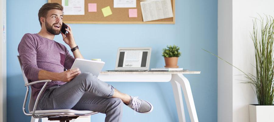 Home Office Geld sparen (Bild: Shutterstock)