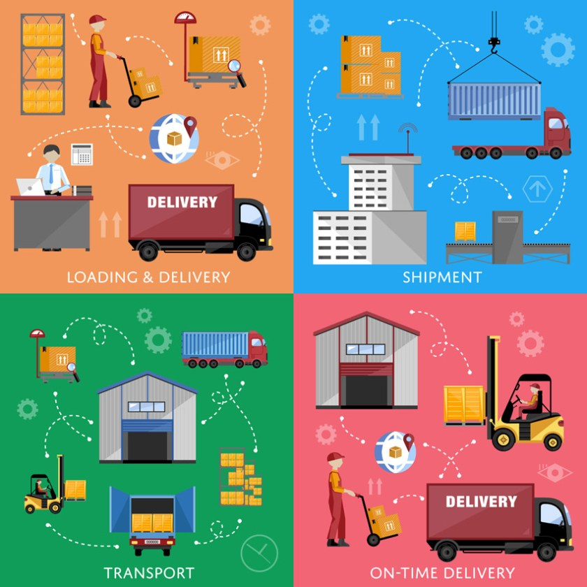 Logistik Prozesse (Bild: Shutterstock)