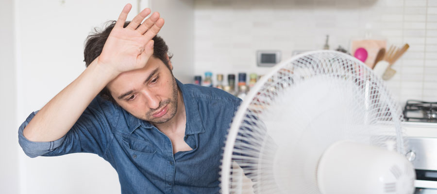 Home Office Hitze Tipps (Bild: Shutterstock)