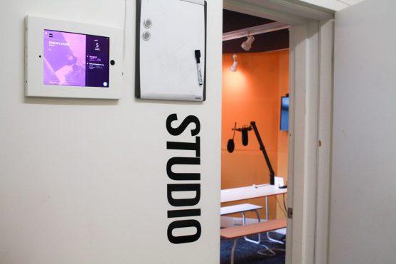StartWell's Podcast Studio on King Street West