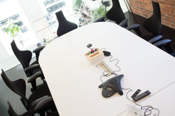 Conference rooms with calling