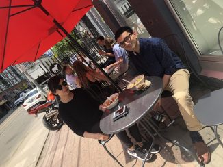Summer Lunch On Our Streetfront Patio at King West