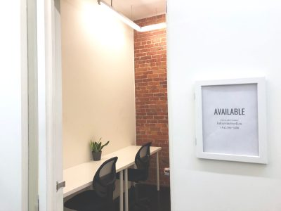 Available: 2 Person Private Office (2-4) at StartWell King West