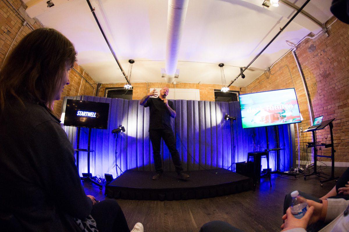 Dark Futures 2019 at StartWell, presented by Nik Badminton