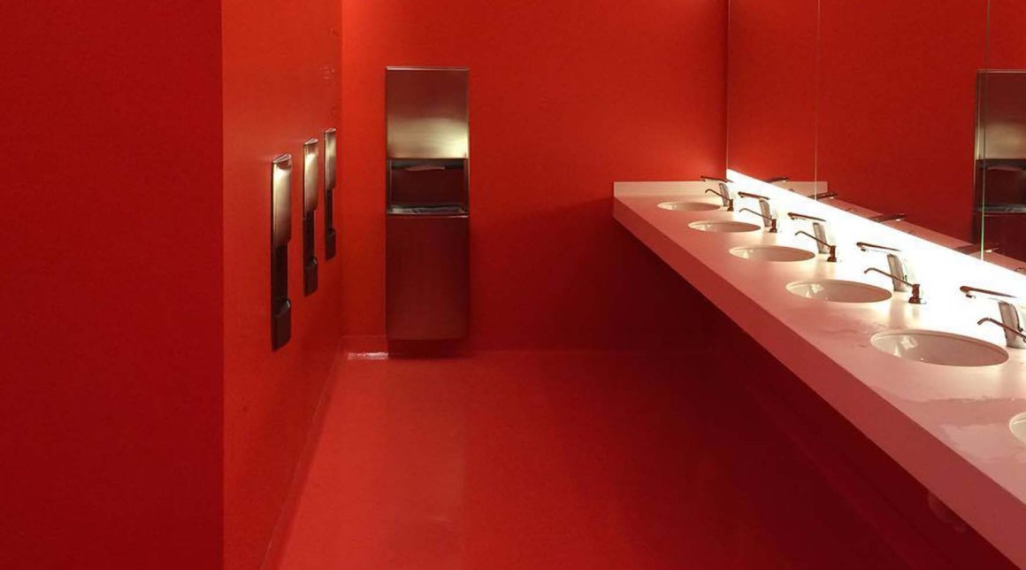 Custom color match floors