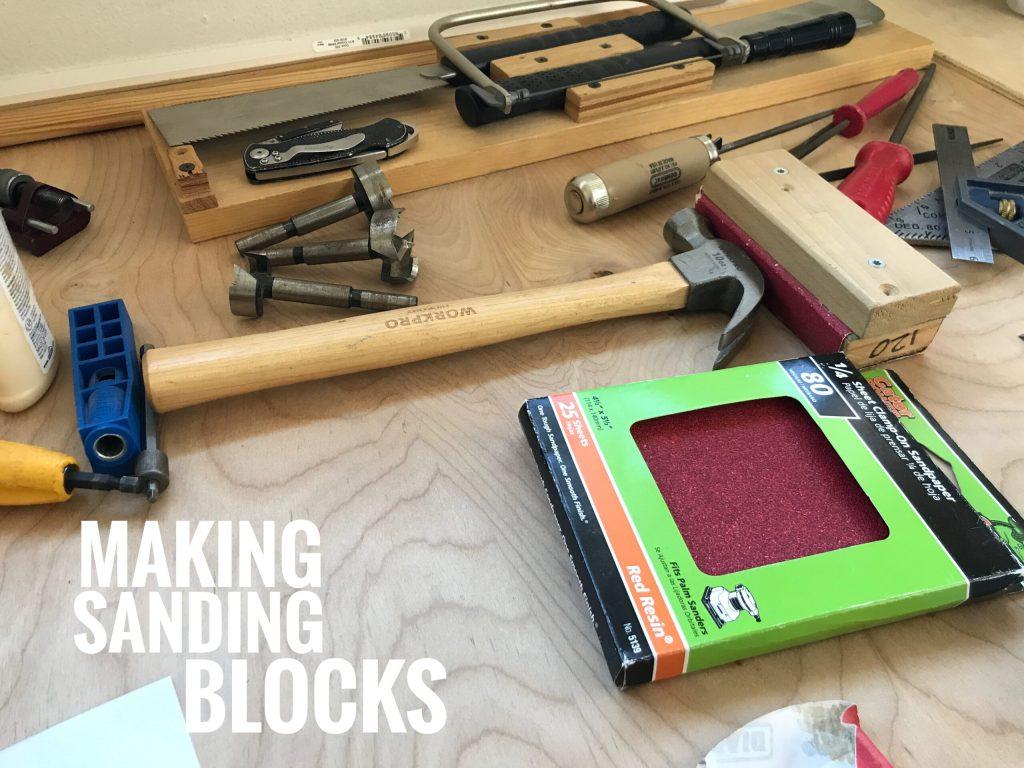 Making Sanding Blocks