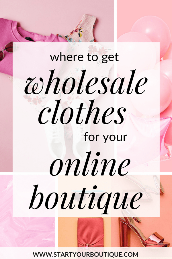 Where Do Online Boutiques Buy Clothes? | Start Your Boutique