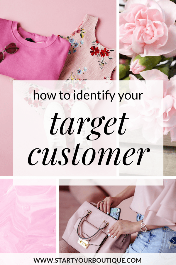 When starting an online boutique business you must identify who your target customer is so you can create an experience that s/he will absolutely love. Click through to learn how to get clear on who your target customer is.