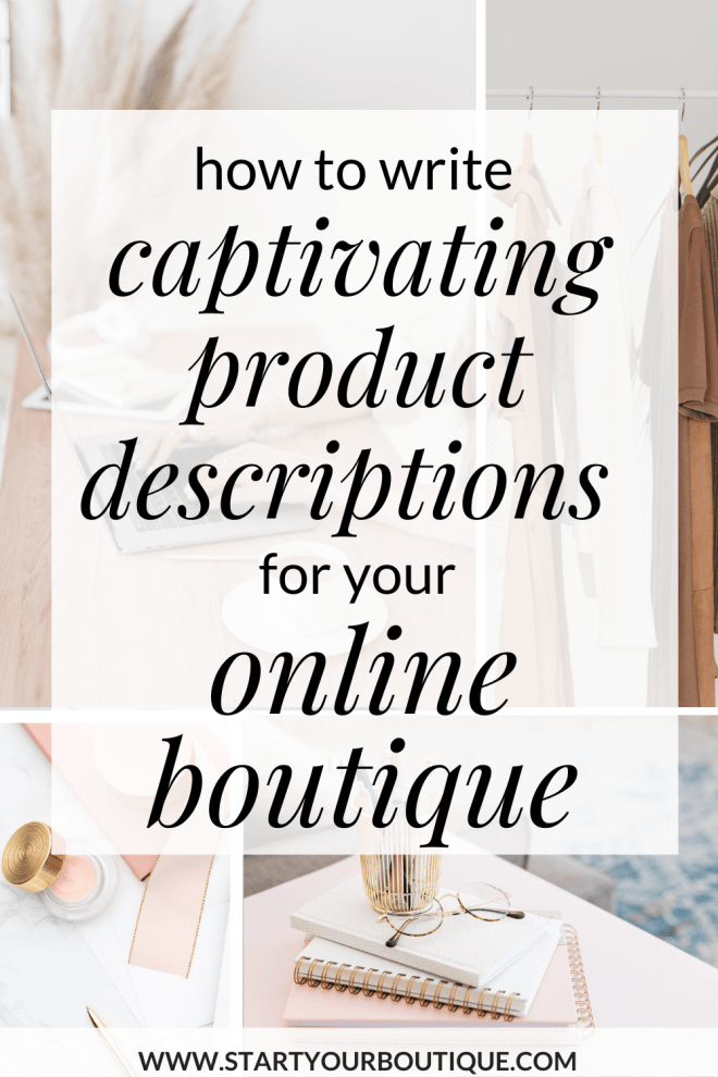 How to Write Captivating Product Description for Your Online Boutique