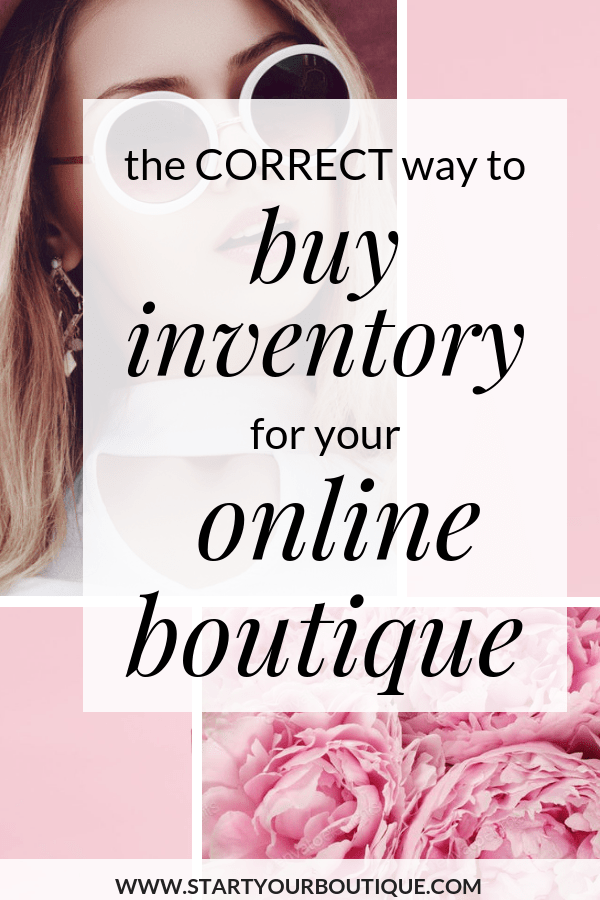 If you're starting an online boutique you might be busy trying to find trustworthy wholesale suppliers and vendors however I don't want you to neglect the most important part about running an online boutique-- buying correctly so you can stay in business. Click through to learn more