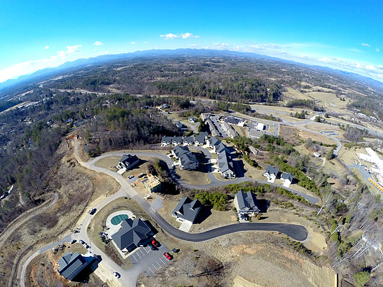 Aerial Photo of Starview Heights from a Drone