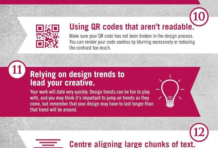 Graphic Design Sins: 22 Mistakes That Novice Designers Make…