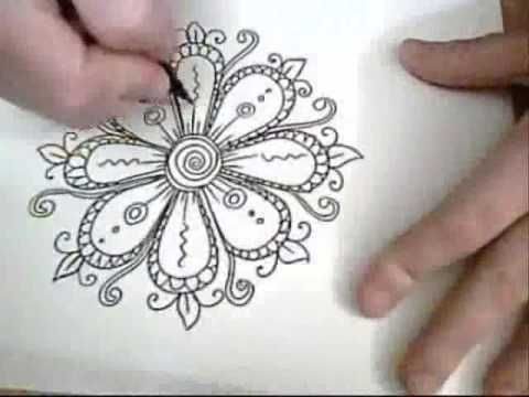 Flowers are Fun! – Ink Drawing — really like this video, but I will not be addi…