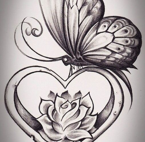 I'm in love with this. Two of my favorite things. Hearts and butterflies!!
