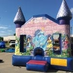 Disney Princess bouncer castle rental