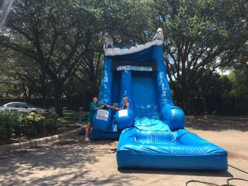 large water slide for rent
