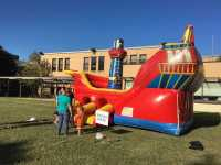 Ship Inflatable Obstacle Bounce House Rental