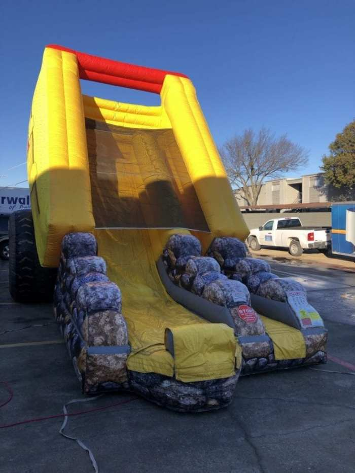 inflatable Dump Truck slide rental