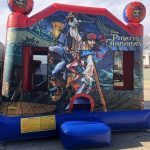 Pirates water bounce house combo inflatable rental near me