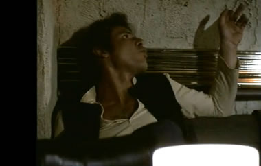 Han in the cantina before he shot first