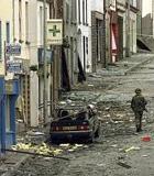 bombed street northern ireland