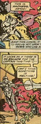 marvel chaykin comic panels