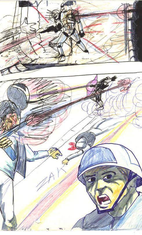 hidden star wars comic drawing
