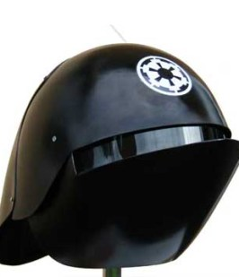 (Fan-made) Death Star Gunner helmet. From 'Star WarsHelmets.com'