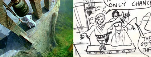 comparing black narcissus and star wars images