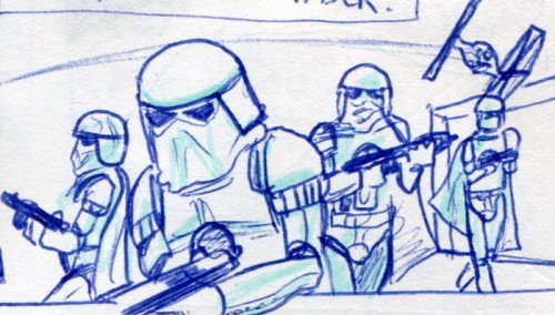 snowtroopers in Empire Strikes back