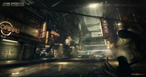 Star-Wars-1313-Concept-Art-Coruscant-Streets