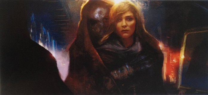 Concept Art - Dark Knight & Daisy Ridley