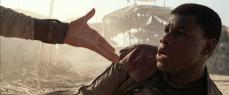 ...offers a hand to Finn