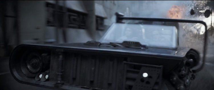 Het raam van de speeder maakt het nog wat moeilijk om met 100% zekerheid te zeggen, maar het lijkt er inderdaad op dat het Han en Qi'Ra zijn.
