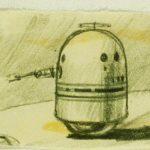 R2-D2 concept sachets van Ralph McQuarrie