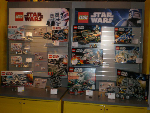 The LEGO booth at Toy Fair had some great upcoming releases on display,