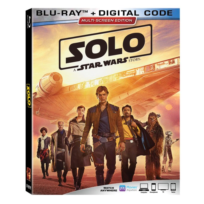 solo bd Solo: A Star Wars Story Home Video Release Date Announced