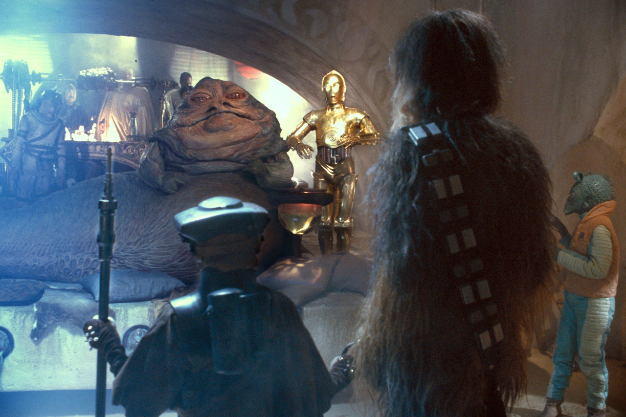 Star Wars Echoes Jabba The Hutt And Dryden Vos