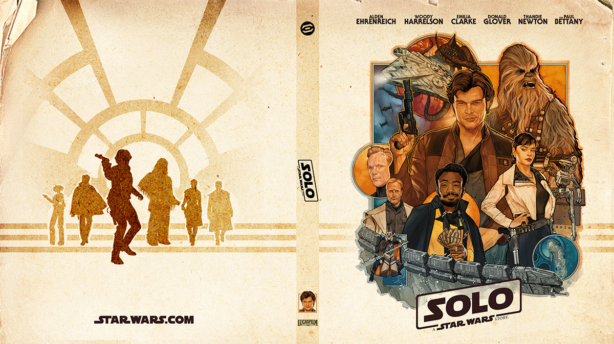 Make A Special Modification To Your Solo A Star Wars Story Blu Ray With S