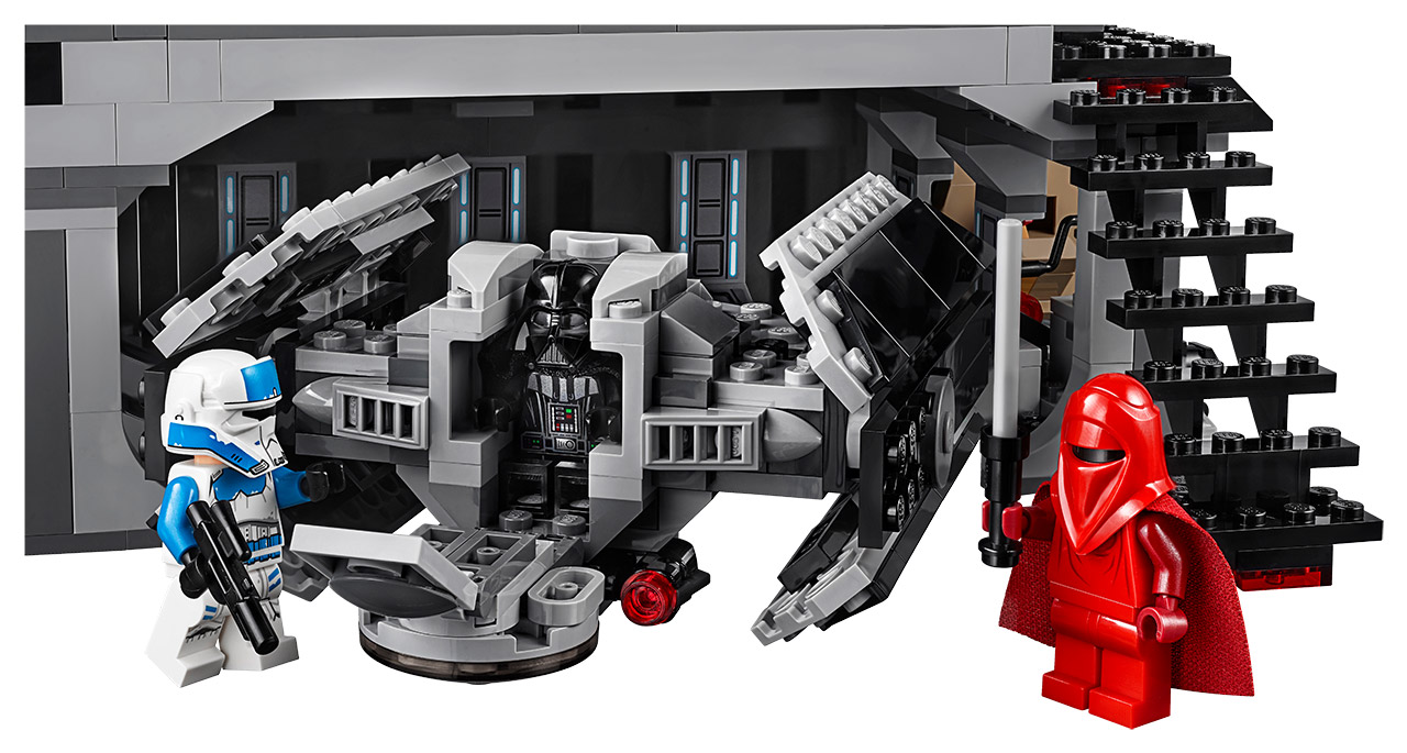 Lego Vaders Castle Revealed On The Star Wars Show