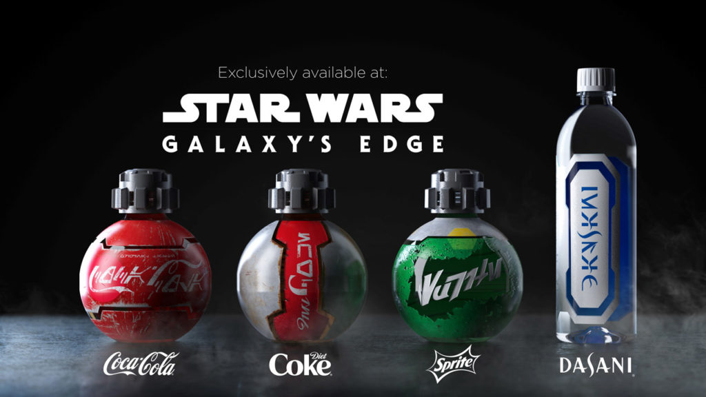 New Coke bottles available at Star Wars: Galaxy's Edge
