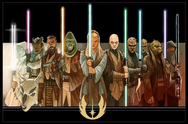 Star Wars: The High Republic - concept art by Phil Noto
