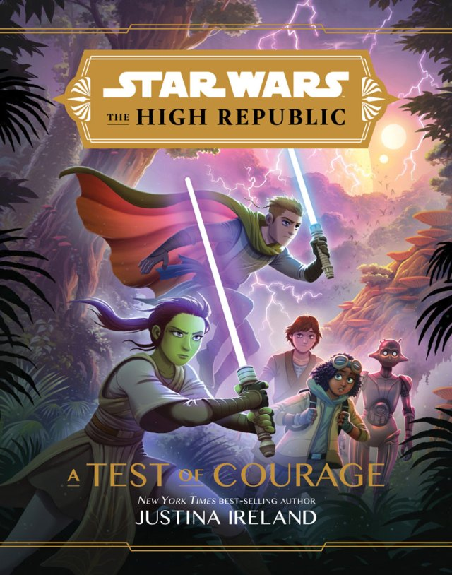Star Wars: The High Republic - A Test of Courage cover