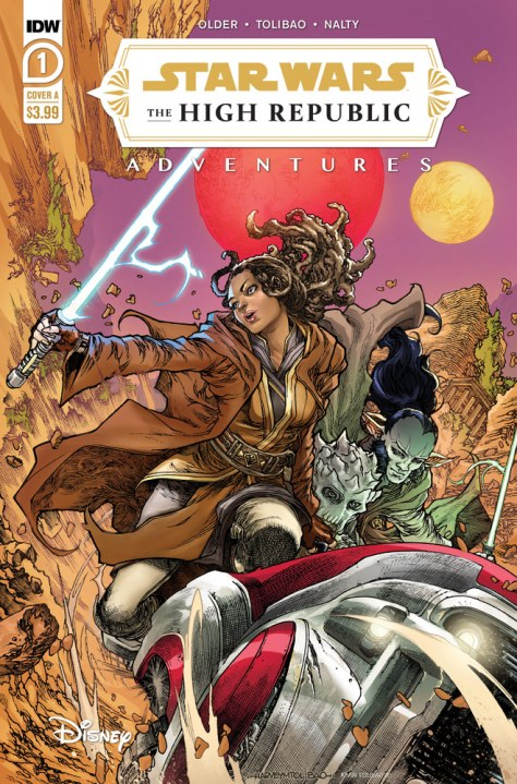 Star Wars: The High Republic Adventures #1 cover