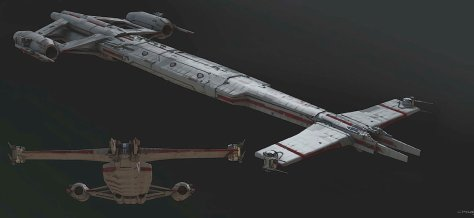 The High Republic: Ships and Vehicles: Republic Longbeam