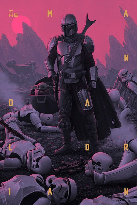 The Mandalorian: Season One print from Mondo Shop