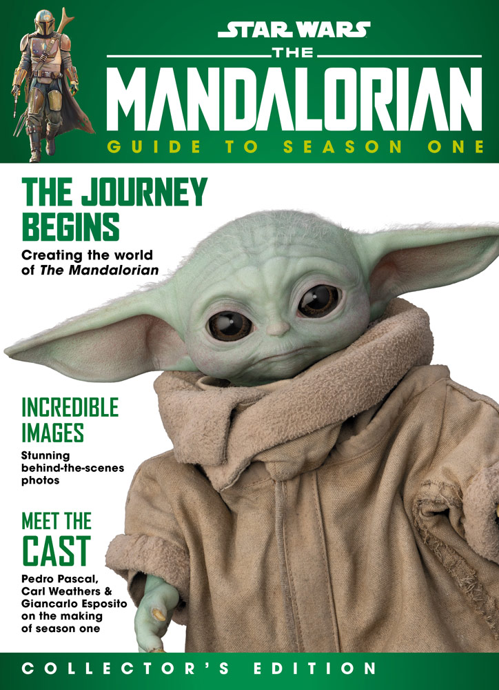 The Mandalorian: Guide to Season One cover with Grogu