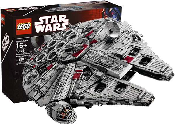 Collecting the Galaxy  15 Years of LEGO Star Wars  Part 2   StarWars com LEGO Star Wars Millennium Falcon
